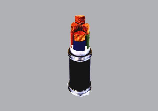 5*16电力电缆结构图